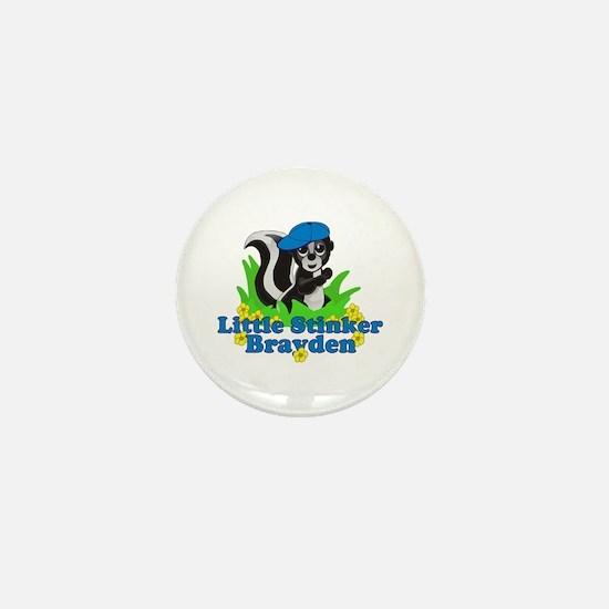 Little Stinker Brayden Mini Button