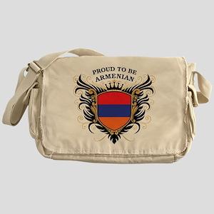 Proud to be Armenian Messenger Bag