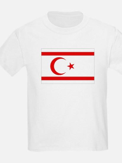 Northern Cyprus Flag Kids T-Shirt