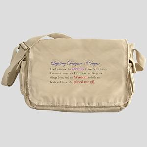 Light Designer Prayer Messenger Bag