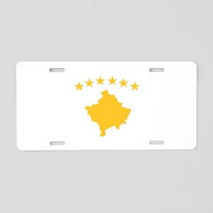 Kosovo Flag Aluminum License Plate