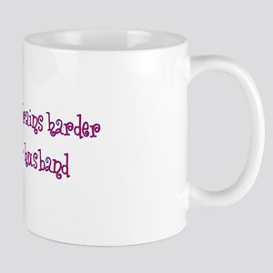 """Husband Trains Harder"" Mug"