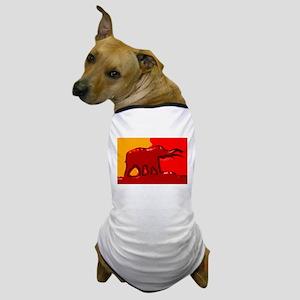 Elephant Logo Dog T-Shirt