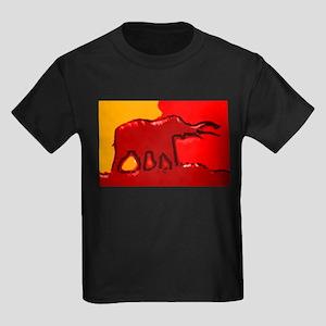 Elephant Logo Kids Dark T-Shirt