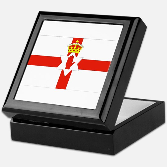 Northern Ireland Flag Keepsake Box