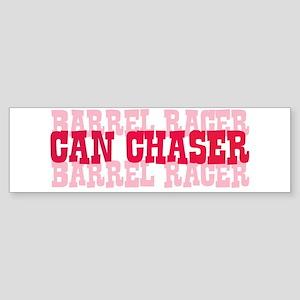 Fun cowgirl Can Chaser Barrel Sticker (Bumper)