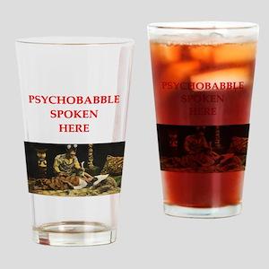 psychology joke Drinking Glass