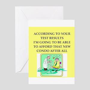 doctor joke Greeting Card