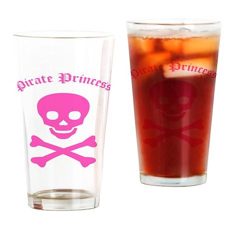 Pirate Princess Drinking Glass