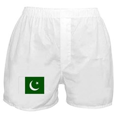 Pakistani Flag Boxer Shorts