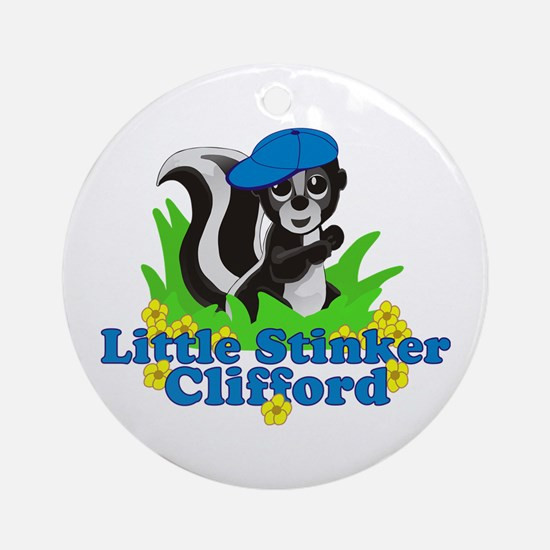 Little Stinker Clifford Ornament (Round)