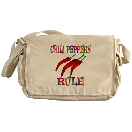 Chili Peppers Rule Messenger Bag