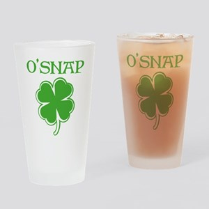 O'SNAP Drinking Glass