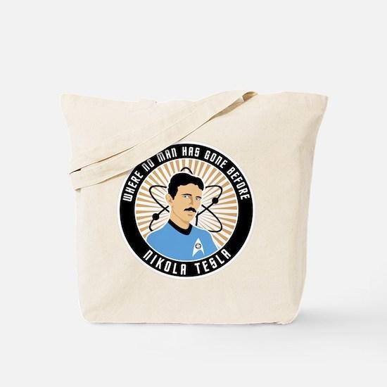 Science Officer Tesla Tote Bag