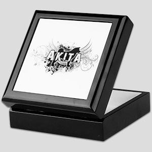 Akita Keepsake Box