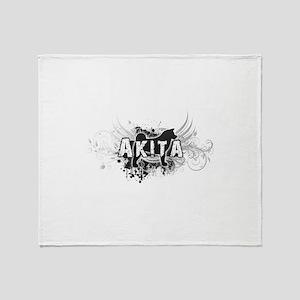 Akita Throw Blanket