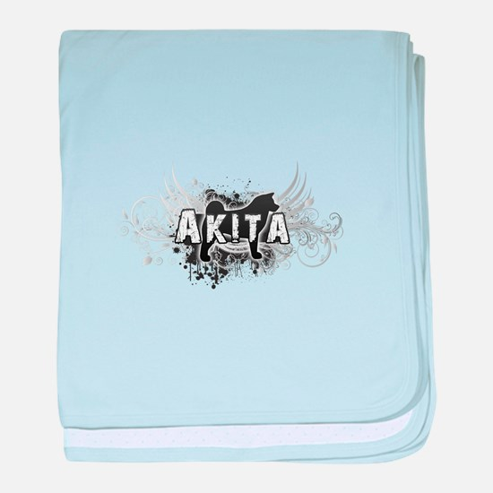 Akita baby blanket