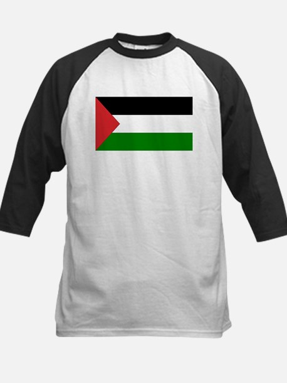 Palestinian Flag Kids Baseball Jersey