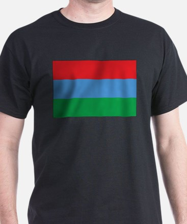 Karelia Flag Black T-Shirt