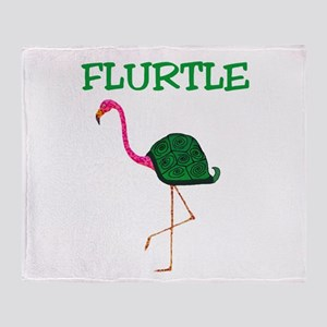 Flurtle Throw Blanket