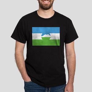 Kabardino-Balkaria Flag Black T-Shirt