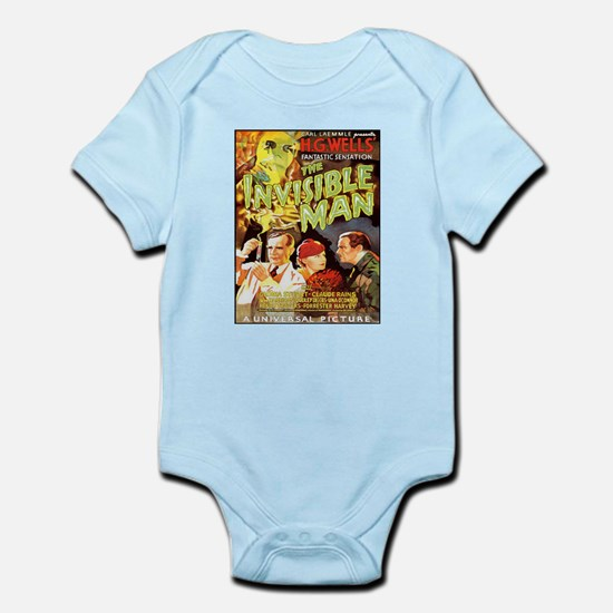 The Invisible Man Infant Bodysuit