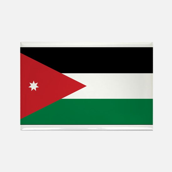 Jordan Flag Rectangle Magnet
