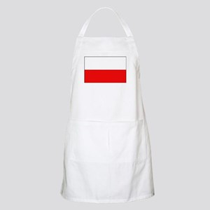 Polish Flag BBQ Apron