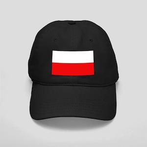 Polish Flag Black Cap