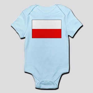 Polish Flag Infant Creeper