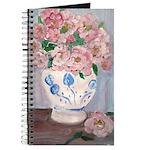 Pink Flowers Journal