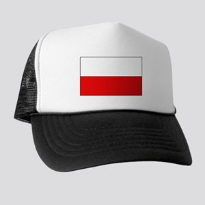 Polish Flag Trucker Hat