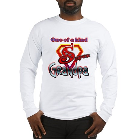 SUPER GRANDPA Long Sleeve T-Shirt