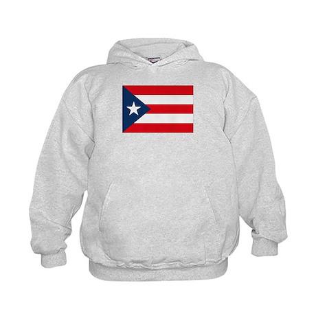 Puerto Rican Flag Kids Hoodie