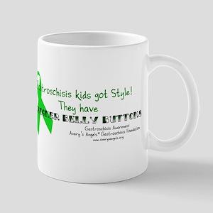 Designer Belly Button Mug