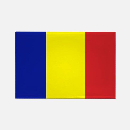Romanian Flag Rectangle Magnet