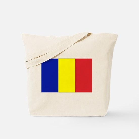 Romanian Flag Tote Bag