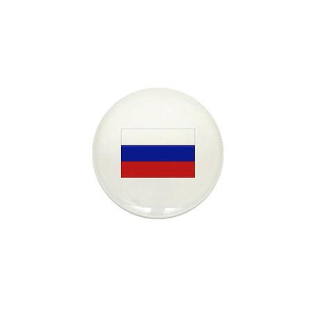 Russian Flag Mini Button (10 pack)