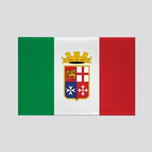 Italy Naval Ensign Rectangle Magnet