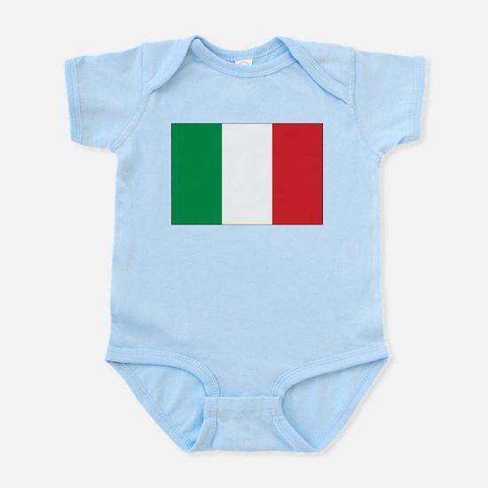 Italy Flag Infant Creeper
