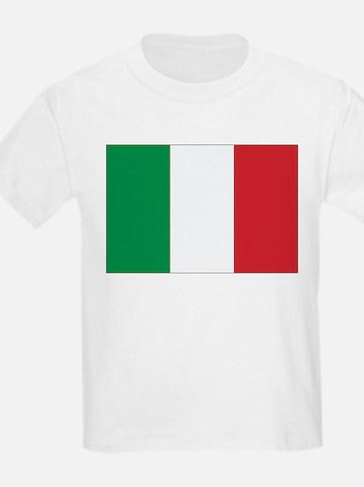 Italy Flag Kids T-Shirt
