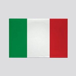 Italy Flag Rectangle Magnet