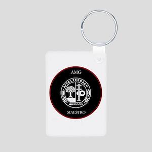 AMG Maestro RedLine Aluminum Photo Keychain