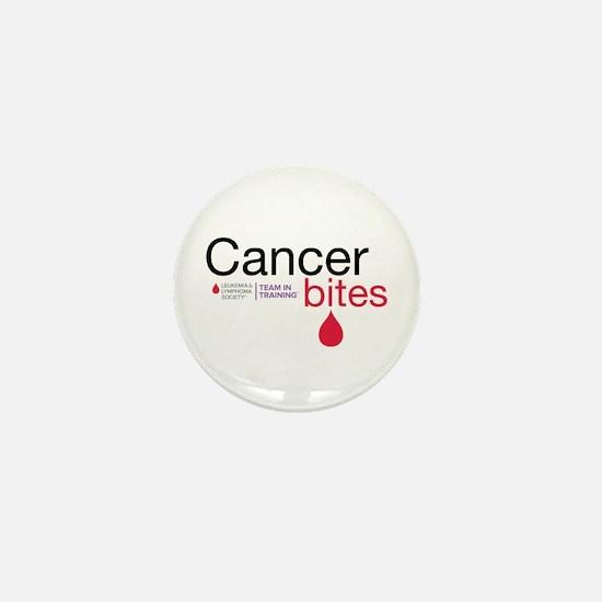 Cancer Bites Mini Button