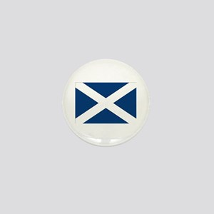 Scottish Flag Mini Button