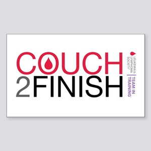 Couch 2 Finish Sticker (Rectangle)