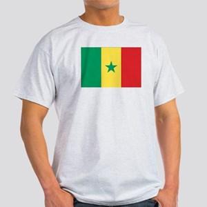 Flag of Senegal Ash Grey T-Shirt