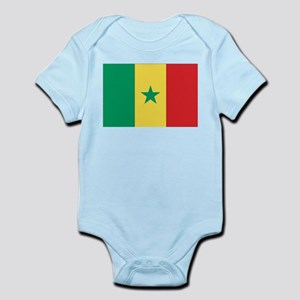 Flag of Senegal Infant Creeper