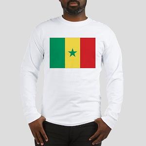Flag of Senegal Long Sleeve T-Shirt