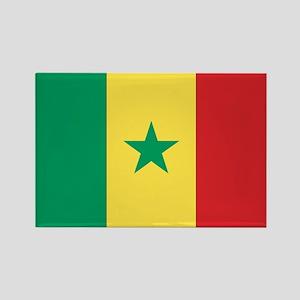 Flag of Senegal Rectangle Magnet